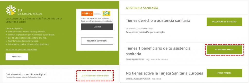 tu seguridad social portal