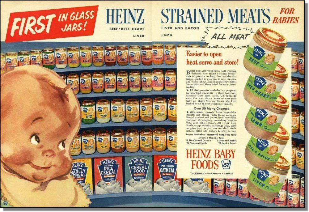 anuncio de potitos heinz