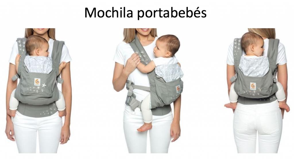 mochila portabebes ejemplo