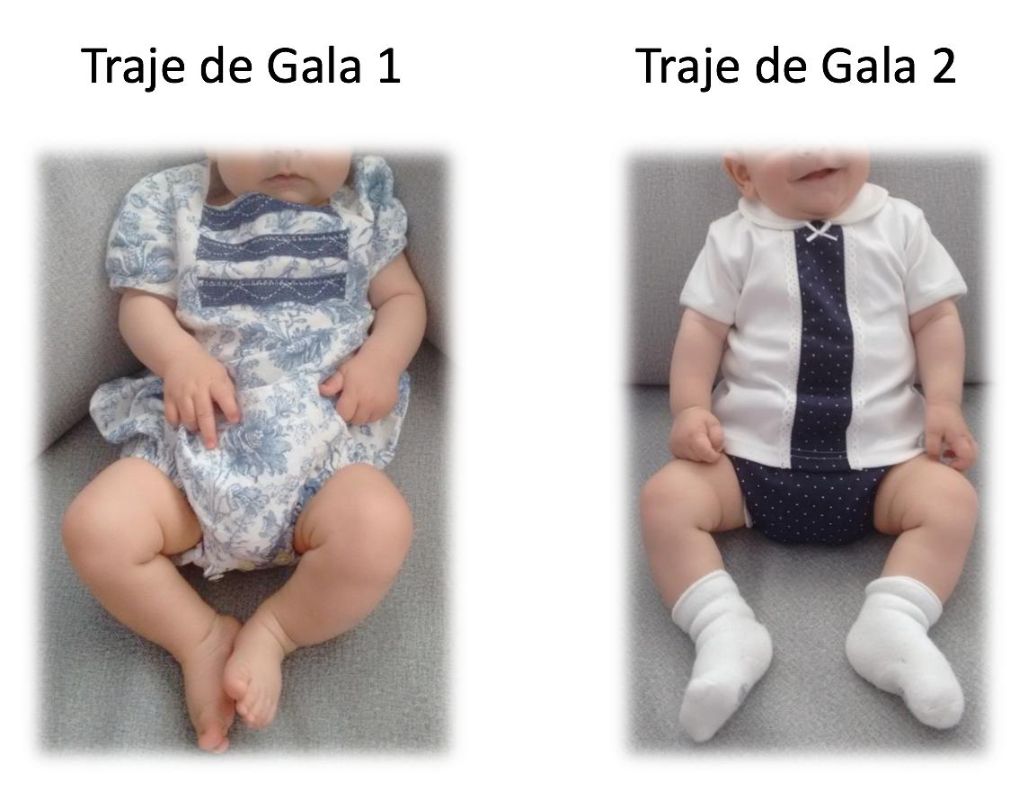 Traje gala bebe