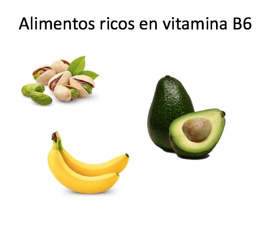 nauseas embarazo - alimentos b6