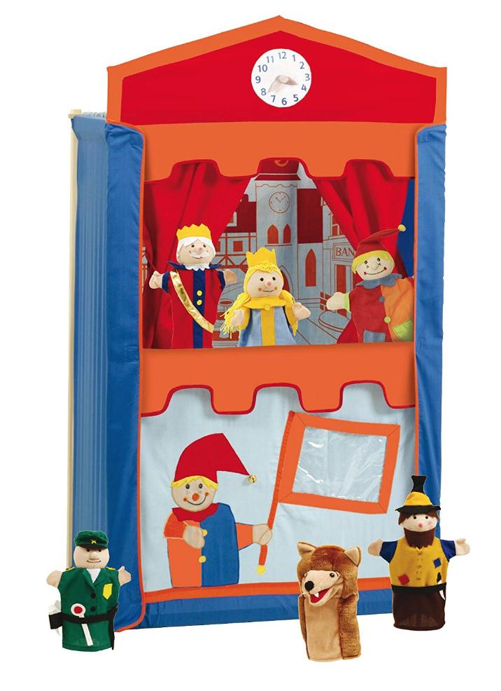 juguetes montessori - teatro marionetas