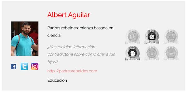 Top Afiliacion opiniones - Albert