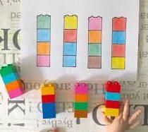Activadades niños - lego patrones 2