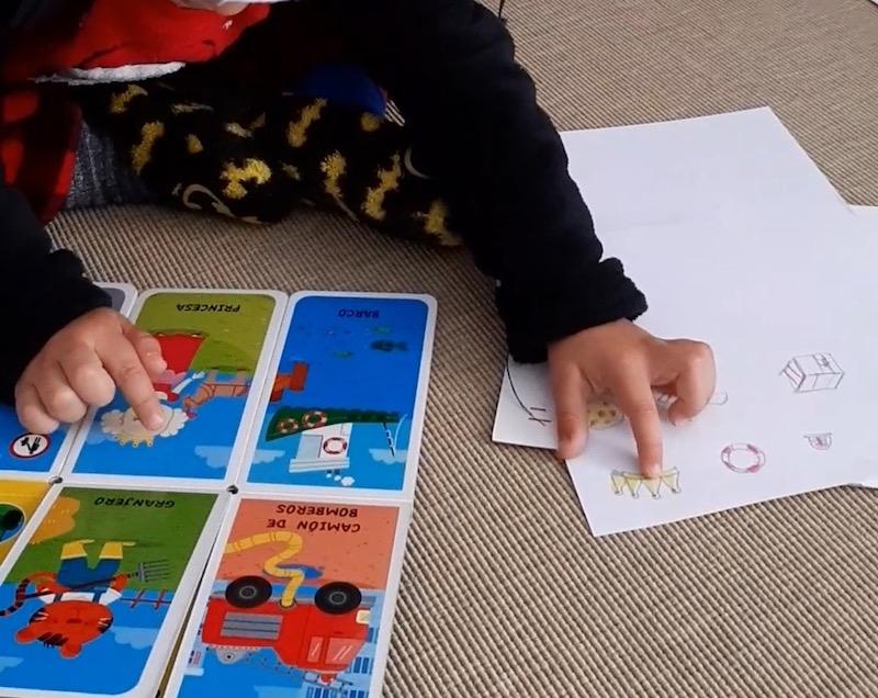 Actividades con niños - libro y dibujos