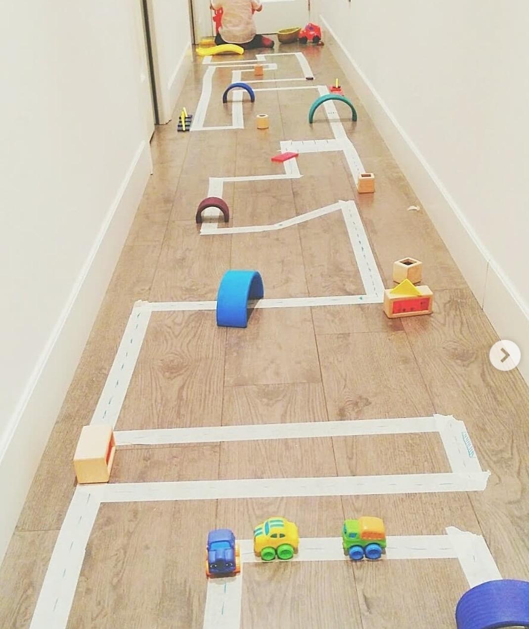 Actividades para niños-Circuito coches