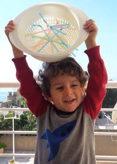 Actividades para niños - escurridor2
