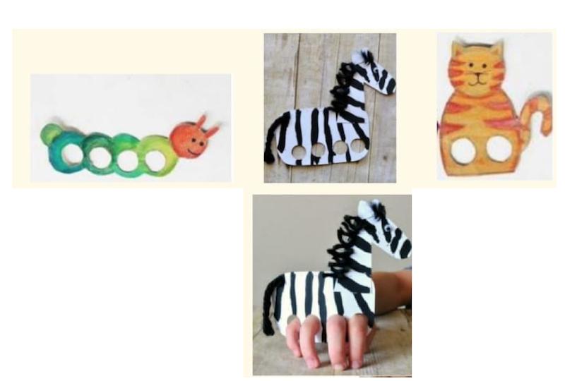 Actividades para niños - marionetas dedos