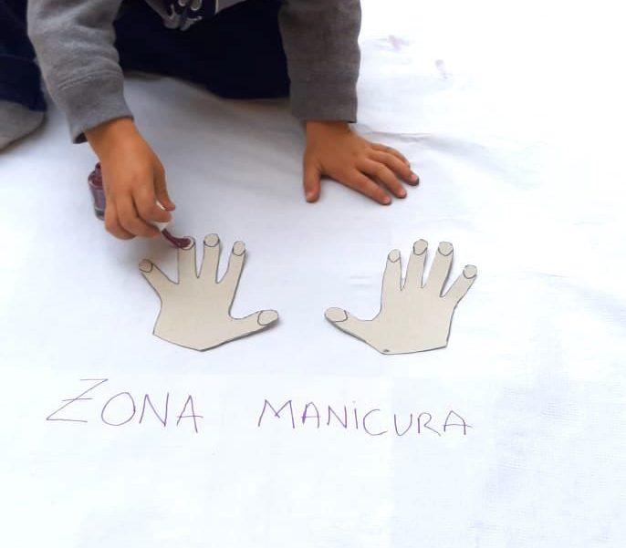 Actividades para niños - pintar uñas2