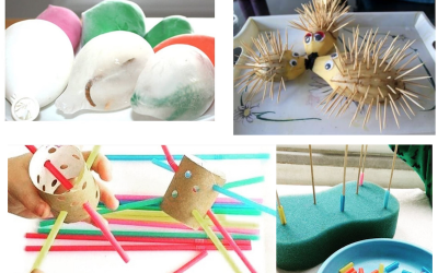 4+1 tipos de Actividades para Niños (fáciles de hacer)