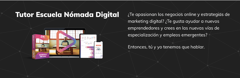 Escuela Nomada Digital tutor