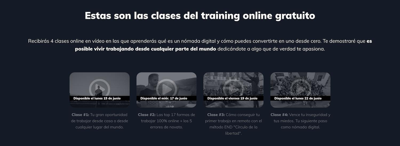 escuela nomada digital training gratuito
