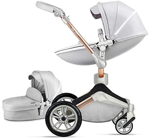 carrito bebe - hot mom gris