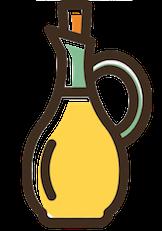 test embarazo casero-aceite